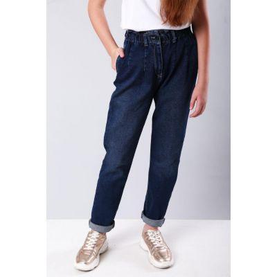 Джинсы - МОМ для девочки 9155 ТМ A-Yugi Jeans
