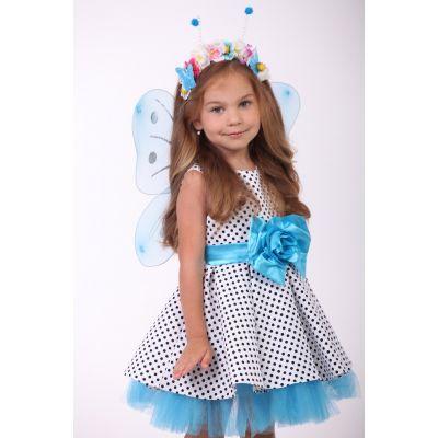 Карнавальный костюм для девочки Бабочка нежность