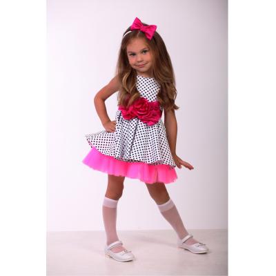 Нарядное платье для девочки Стиляги 9710 пышное