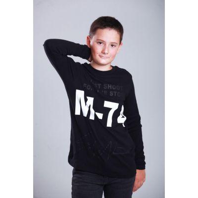 Свитшот для мальчика 2829.03 черный ТМ Marions