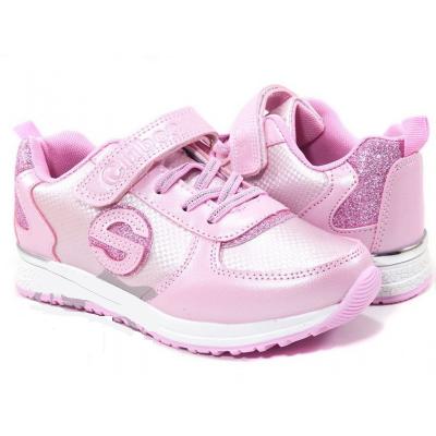 Кроссовки для девочки 295 розовые ТМ Clibee