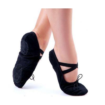 Балетки для танцев черные