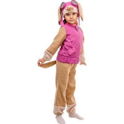 Карнавальный костюм для девочки Щенок Скай №5 ТМ Сашка