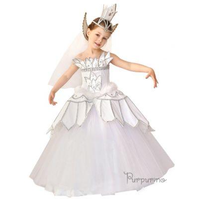 Карнавальный костюм для девочки Принцесса - Лебедь 631 ТМ Purpurino