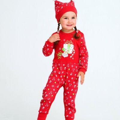 Комплект Новый год(в подарочной упаковке) 109974/75 красный ТМ Smil