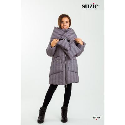 Куртка для девочки Беверли клетка ТМ Suzie