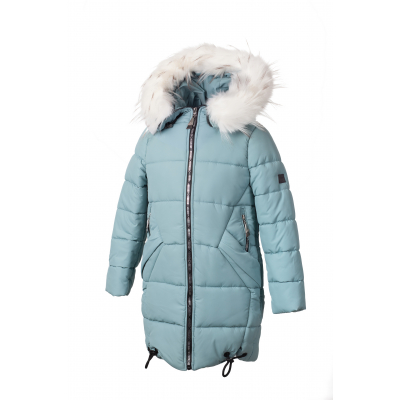 Куртка для девочки KR 05 голубая ТМ Alfonso