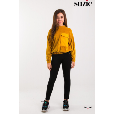 Свитшот для девочки Сэнди горчица ТМ Suzie