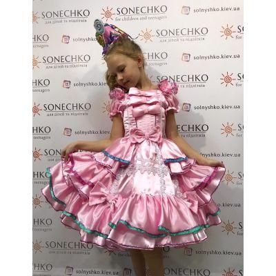 Карнавальный костюм для девочки Королева Пирожное, Конфетка Стиль
