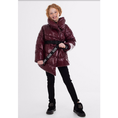 Куртка для девочки Нита бордо ТМ Suzie