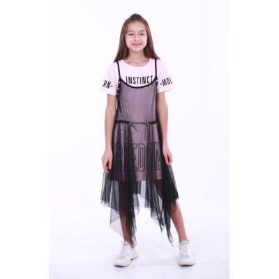 Комплект для девочки 9083 розовый ТМ Marions