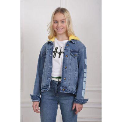 Джинсовая куртка 17093 ТМ A-Yugi Jeans