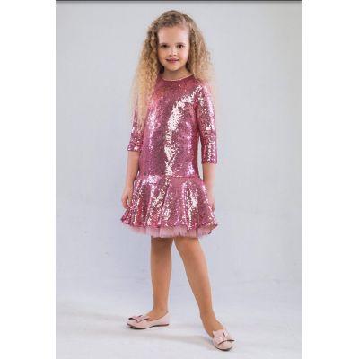 Платье для девочки Илэрия розовый ТМ Suzie