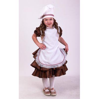 Карнавальный костюм для девочки Повар ТМ Sonechko
