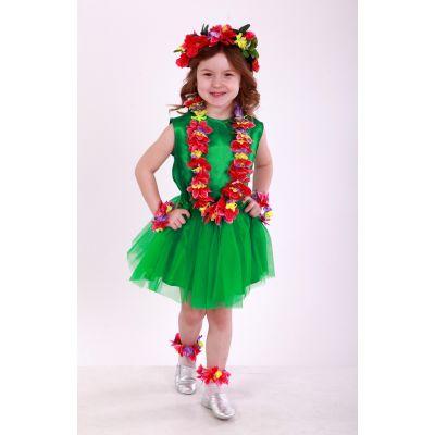 Карнавальный костюм для девочки Гавайи (гавайский костюм) ТМ Sonechko