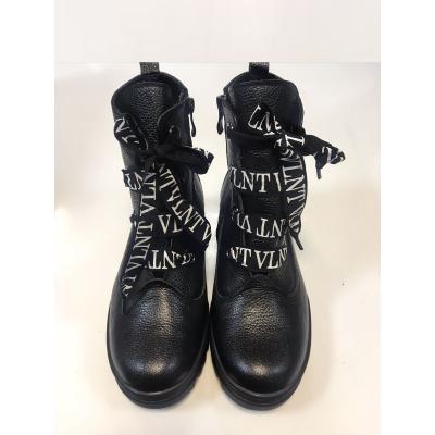 Ботинки для девочки 1910 черный ТМ MAXUS