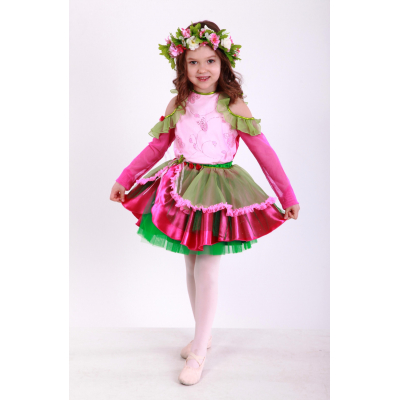 Карнавальный костюм для девочки Фея Цветов, Цветочек