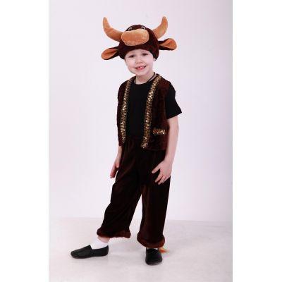 Карнавальный костюм для мальчика Бык - Бычок