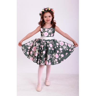 Нарядное бальное платье для девочки Стиляги Роза Элегант