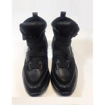 Ботинки кожанные для девочки 9 черный