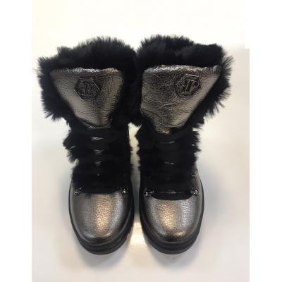 Ботинки для девочки 1902 бронза ТМ MAXUS