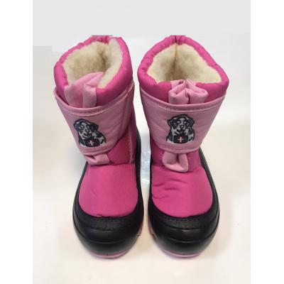 Cапоги зимние - дутики - сноубутсы для детей DOGGY 4021а ТМ Demar