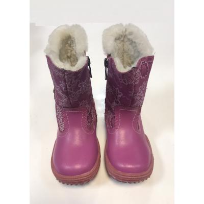 Ботинки зимние для девочки V099-15