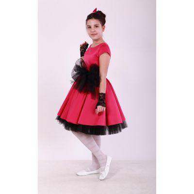 Нарядное платье для девочки стиляги BIG BAND