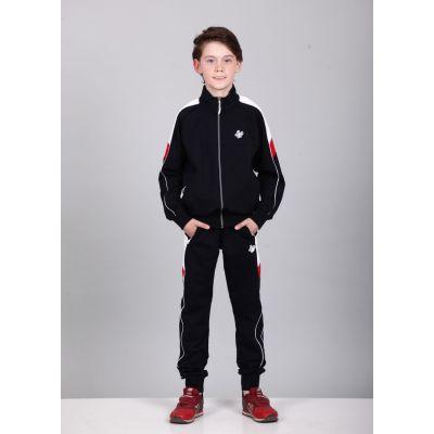 Спортивный костюм для мальчика 4995 черный ТМ A-Yugi