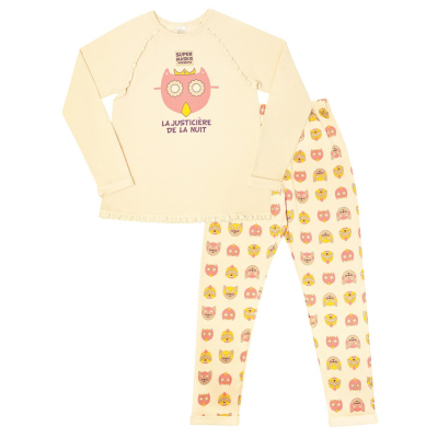 Пижама для девочки с начесом арт. 104348/104447/104607 ТМ SMIL