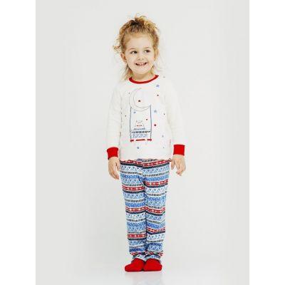 Пижама для девочки(светящиеся элементы)  104243 ТМ SMIL