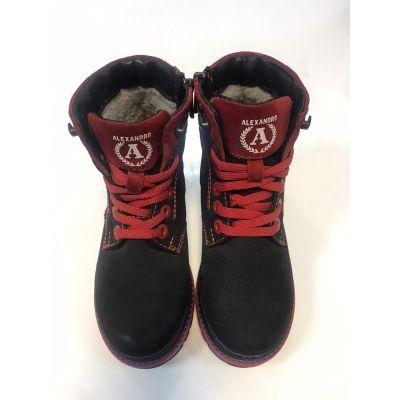 Ботинки черные Alexandro 18115