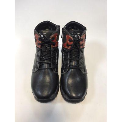 Ботинки черные 18135 ТМ Alexandro