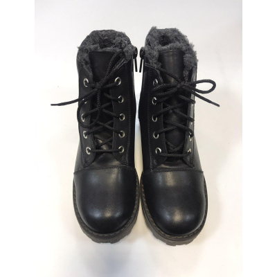 Ботинки черные PdP4181