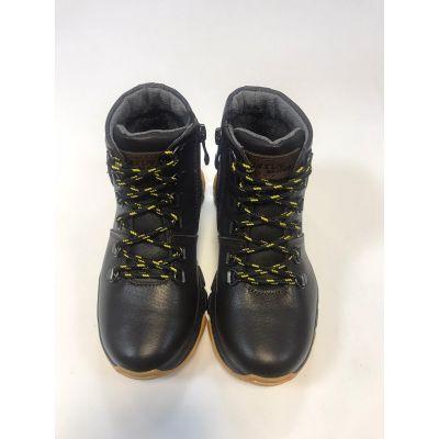 Ботинки кожаные Джерси коричневые ТМ Maxus