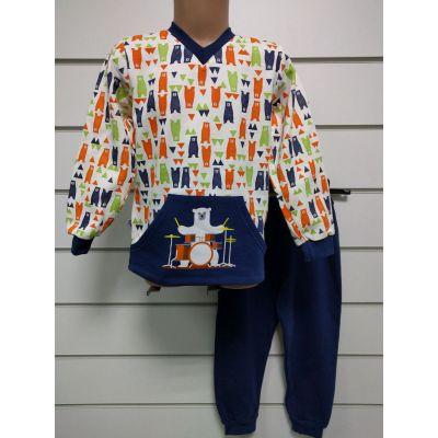 Пижама утеплённая для мальчика 11888  GABBI,  Украина