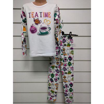 Пижама для девочки  Tea Time 247-222 ТМ Фламинго