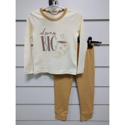 Пижама для девочки DREAM 245-222 ТМ Фламинго