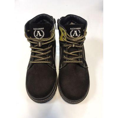 Ботинки 18/39 коричневые ТМ Alexandro