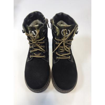 Ботинки 18110 черные ТМ Alexandro