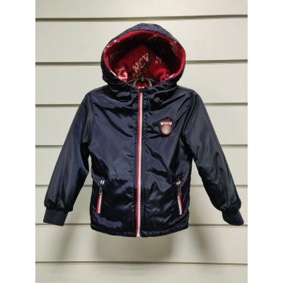 Куртка ветровка двухсторонняя для мальчика 29147
