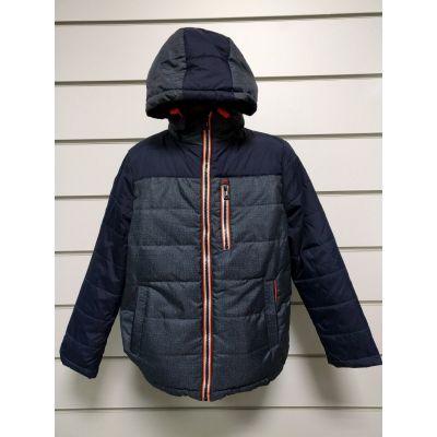 Куртка для мальчика демисезонная т.синяя М1703