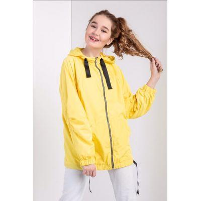 Куртка ветровка для девочки желтая Эйва ТМ Suzie