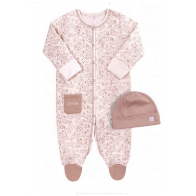 Человечек и шапочка для девочки КП207 розовый ТМ Бемби
