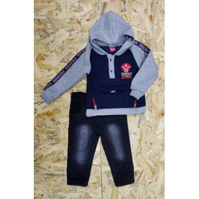 Комплект (худи и брюки)  для мальчика 5010 Турция