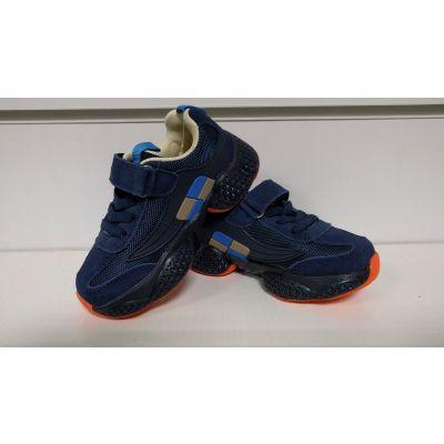 Кроссовки 19970-11 светящиеся синие ТМ Zolong
