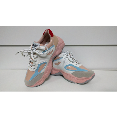 Кроссовки T56-2 розовые