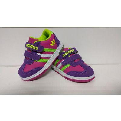 Кроссовки для девочки светящиеся 1004-5