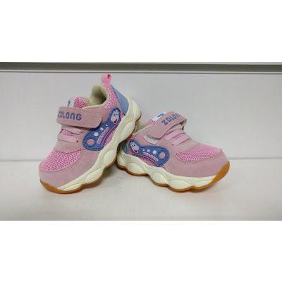 Кроссовки 17319-02 розовые ТМ ZOLONG