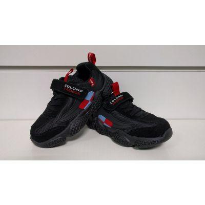 Кроссовки 19970 черные ТМ ZOLONG